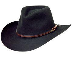 04e48f41c5fc8 Stetson Bozeman Wool Felt Crushable Cowboy Hat TWBOZE-813007