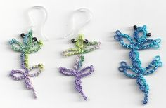 Tatting Lace in Grace: Geckos