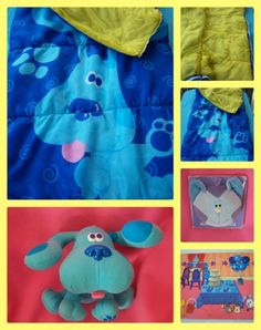 Lot of 4 RARE NEW Blues Clues HANDY Dandy SHIRTS NOTEBOOKS ...