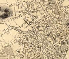 Historical Maps, Vintage Maps, Pigment Ink, Canon, Printer, Bridge, Castle, Menu, Bro