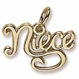 #NIECE Charm #2266 - Rembrandt Charms are available in Sterling Silver, Gold Plating, 10K Yellow Gold, 14K Yellow Gold, and 14K White Gold.  Call for pricing information. Available at ANDREW GALLAGHER JEWELERS, NEWARK, DELAWARE (302) 368-3380