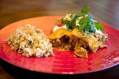 Fuller Fine Foods: Sweet Lime Chicken Enchiladas