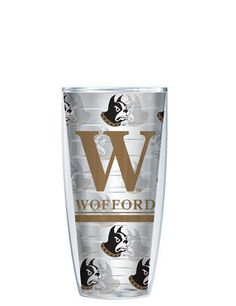 Wofford College Tumbler -- Customize with your monogram or name! by GoneGreek on Etsy