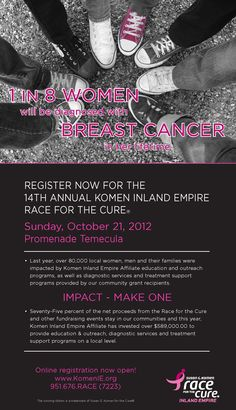 Race for the Cure ~ Inland Empire