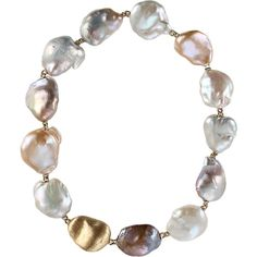 YVEL Souffle Baroque Pearl Necklace ($15,920) ❤ liked on Polyvore