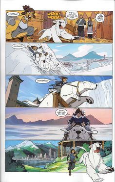 """Legend of Korra - FCBD 2016 - """"Friends for Life"""" I figured I'd upload a relatively high quality (read: non-camera) version of these since they're a) free, b) intended to be available on the internet,..."""