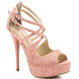 JustFab's Pink Rowan - Pink for 59.99 direct from heels.com