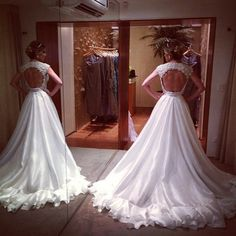 Most beautiful wedding dresses #wedding #bridal