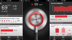 Cardiio heart rate monitor, iPhone app