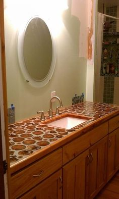 Cordwood Countertops