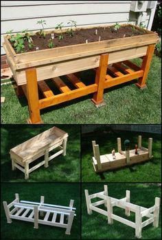 If space is an issue the answer is to use garden boxes. In this article we will show you how all about making raised garden boxes the easy way. Raised Garden Bed Plans, Raised Beds, Garden Boxes, Garden Planters, Balcony Gardening, Indoor Gardening, Above Ground Garden, Raised Planter, Planter Boxes