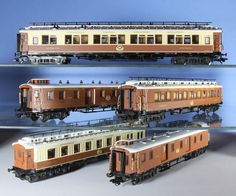 Set Marklin dell'Orient Express