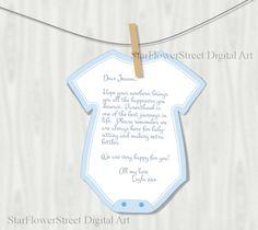 Baby Shower Decorations Boy Wishes for Baby advice cards Printable Cutout Blue digital download DIY party instant bodysuit cut out bbs by StarFlowerStreetDA on Etsy https://www.etsy.com/listing/270456216/baby-shower-decorations-boy-wishes-for