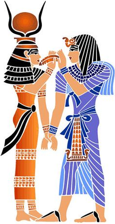 Egypt Stencil Designs from Stencil Kingdom Egyptian Drawings, Egyptian Tattoo, Egyptian Queen, Egyptian Art, Ancient Egypt Art, Egyptian Mythology, Stencils, History, Handmade Books