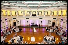 Soldiers & Sailors Memorial Hall & Museum | Auditorium Wedding Ceremony | Pittsburgh | Jillian & Zach | First Dance | Grand Ballroom | Wedding Reception | Pink and purple wedding | Gray Phoenix Design Lighting | Studio Bash Photography