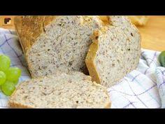 Ein leckeres und gesundes 5 Minuten Brot. Jetzt auf meinem Youtube Kanal anschauen. Ich freue mich auf euch.