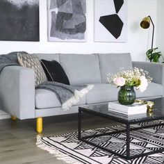 27 Dreaming About These 8 Living Room Wall Decor Ideas ~ Home Design Examples Small Apartment Living, Cozy Living Rooms, Living Room Grey, Living Room Furniture, Barn Living, Cozy Apartment, Rustic Furniture, Scandinavian Living Rooms, Black White And Grey Living Room