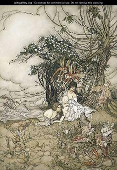 The Changeling, 1905 - Arthur Rackham