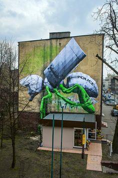 Ludo @Katowice Street Art Festival || fot. W. Nowak
