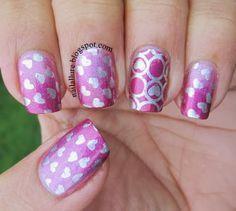 My Nail Files: Valentine's Day Nails - GOT Polish Challenge - #valentinesday