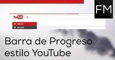barra de progreso estilo YouTube con Pace