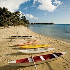 Photo: Huahine Beach  in Tahiti