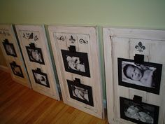 10 Ways to Repurpose Cabinet Doors - this might be useful after we renovate our kitchen