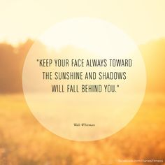 sunshine #quote #inspiration #motivation