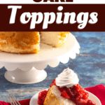 Angel Food Cake Toppings, Caramelized Bananas, Boston Cream Pie, Quick Dessert, Strawberry Sauce, Desserts To Make, Chocolate Cheesecake, Toasted Coconut, Summer Treats