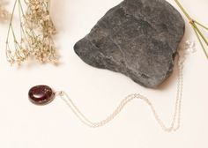 Red Rose Petals and Gold Leaf Flake by LomharaJewellery on Etsy