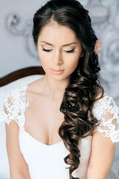 27 peinados para novias con melena 9