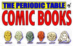 The Periodic Table of Comic Books