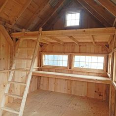 All of our wood sheds, storage sheds, garden sheds, cottages and utility enclosures are built of the finest Vermont lumber and handcrafted for long life and durability. Diy Storage Shed Plans, Backyard Storage Sheds, Backyard Sheds, Garden Sheds, Backyard Cabin, Shed Plans 12x16, Lean To Shed Plans, Shed With Loft, Shed Loft