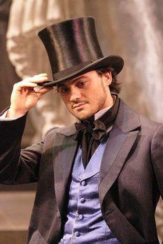 Tenor Vittorio Grigolo in Verdi's La Traviata.