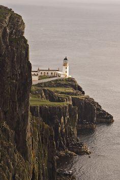 Neist Point Lighthouse, Isle of Sky, Scotland
