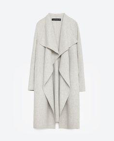 Image 8 of HAND MADE COAT from Zara