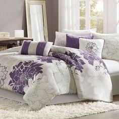 14 Best Comforter Sets Images Bedding Purple Bedrooms Purple Rooms