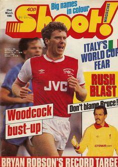 Bryan Robson, Arsenal, Magazines, Wordpress, Archive, Soccer, Football, Baseball Cards, Classic