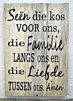 Tafelgebed More Wall Quotes, Bible Quotes, Bible Verses, Quotations, Qoutes, Afrikaanse Quotes, Bible Prayers, Dear God, Christian Quotes