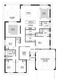 Plans For Nutec Homes And All Additions Free House Plans Four Bedroom House Plans Floor Plan Design