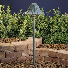 Kichler 15314 Ruffle 23 Xenon Path and Spread Light Midnight Spruce Outdoor Lighting Landscape Lighting Path Lights Cool Landscapes, Backyard Lighting, Garden Design, Solar Lights Garden, Path Lights, Front Yard, Kichler Lighting, Pathway Lighting, Landscape Lighting
