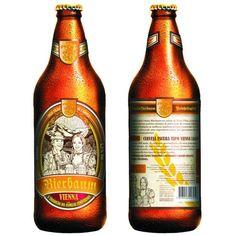 Cerveja Bierbaum Vienna, estilo Vienna Lager, produzida por Cervejaria Bierbaum, Brasil. 5.2% ABV de álcool.