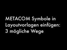 METACOM Vorlagen nutzen