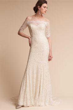 BHLDN Savannah Gown  in  Bride Wedding Dresses Lace   BHLDN
