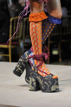 Vivienne Westwood   a bit wild for me not my style but very artistic