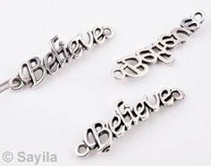 Message Jewelry 'Believe' http://www.sayila.com/go/si/si/37525