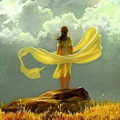 Beautiful yellow flow