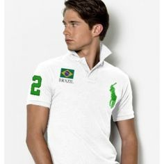 Welcome to our Ralph Lauren Outlet online store. Ralph Lauren Mens Flag Polo T Shirts