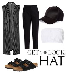 """""""Casual"""" by imanko on Polyvore featuring mode, Glamorous, River Island, Chloé, Birkenstock, GetTheLook et hats"""