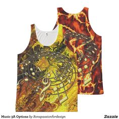 Music 3A Options All-Over Print Tank Top